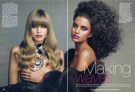 Voluminous Haute Hair