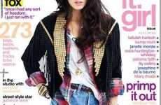 Grunge-Inspired Photo Shoots - Megan Fox's Nylon Pictorial Includes Fringe and Flannel