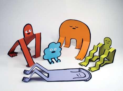 Kooky Pop-Up Art