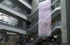 Interactive LED Banners - Mode Studios Builds 35-Foot Interactive Screens for Microsoft Campus