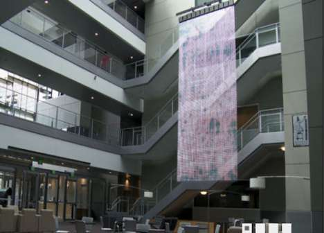 Interactive LED Banners