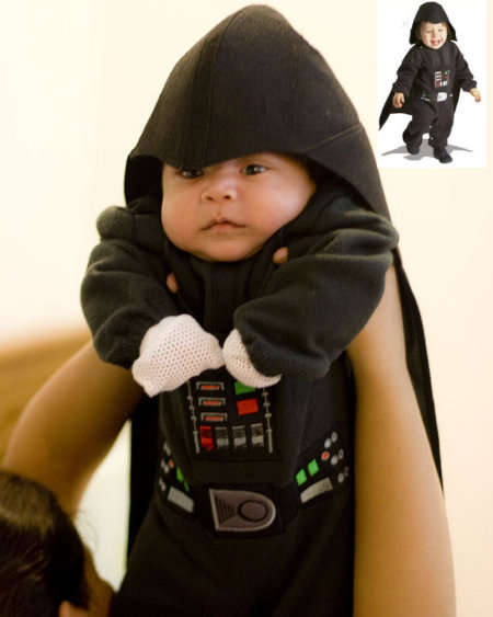 Kiddie Jedi Costumes - Let Your Child Command the Dark Side With the Darth Vader Halloween Get-Up