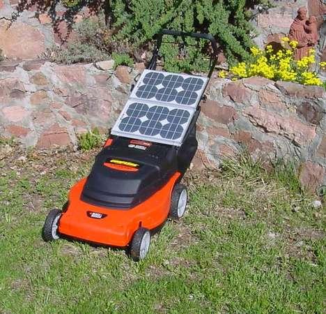 Solar-Powered Lawnmowers
