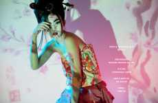 Punk Geisha Photography - 'Cherry Blossom Girl' by Nicoline Patricia Malina is Culturally Glamtastic