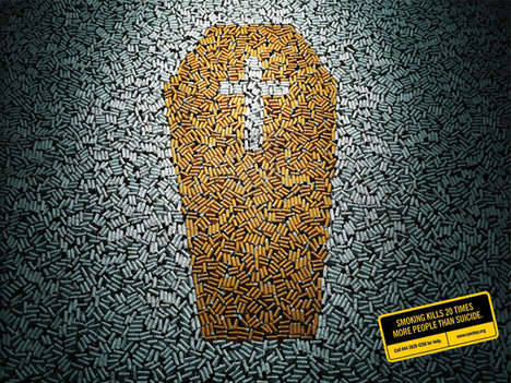 Cigarette Collages