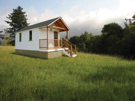 Portable Temporary Houses - Heirloom Quality Custom Buildings Delivered on Wheels