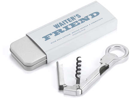 Puzzle Pocket Knives - Waiter's Friend is the Perfect Combination for All of Your Drinking Needs