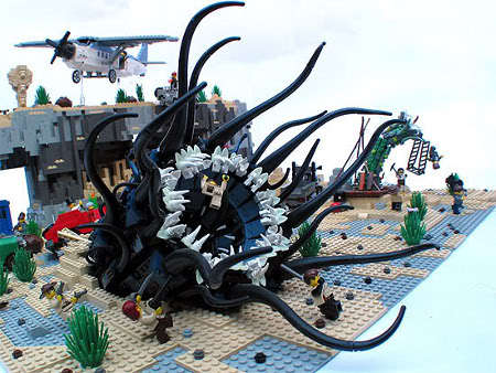Ghoulish LEGO Monsters