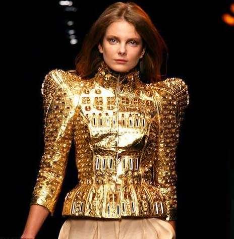 Spiked Shoulder Fashion