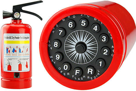 Fire Extinguisher Phones - Play Pranks and Make Calls on This Cheeky Safety Device
