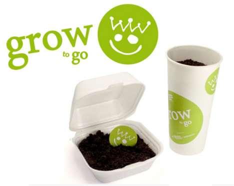 Fast Food-Inspired Branding