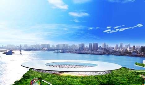 Futuristic Frisbee Stadiums