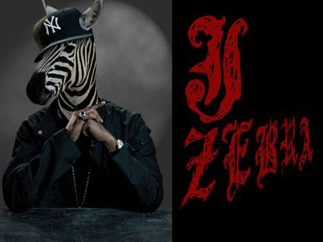 Kenneth Shinabery Depicts Jay-Z and 50 Cent as Animals