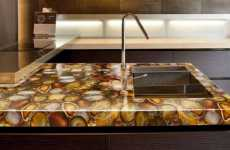 Textured Countertops - The Cosentino Prexury Collection Offers Unique Surfaces for the Kitchen