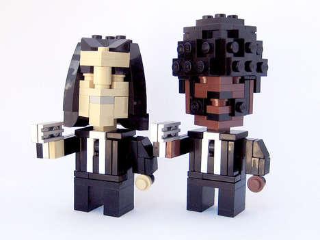 Pixelated LEGO Icons