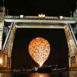 Ballooning Bridges