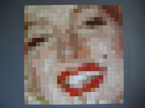 Paint Chip Pop Icons