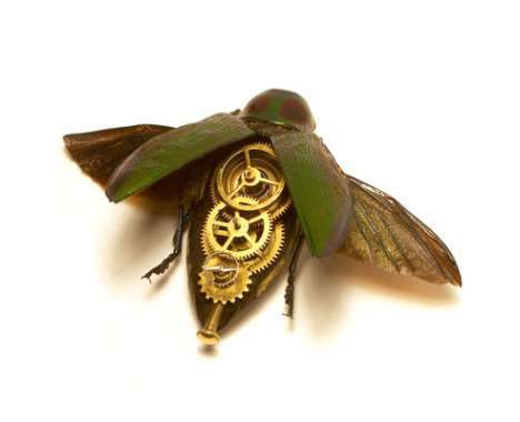 22 Steampunk & Cyborg Insects