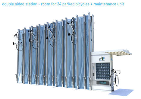 Heavenly Cyclers' Stations - Long Term Bike Parking Offers Both Safety and Comfort