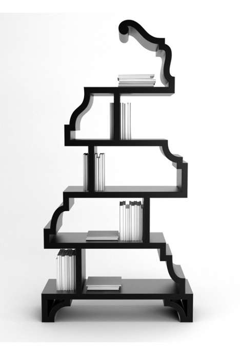 Moderntique Shelves - Delight in Stanislav Katz's Decay Shelves