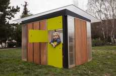 Prefab Playhouses - Modern Cabana Takes Its Prefabrication Skill to the Kiddo Cabana