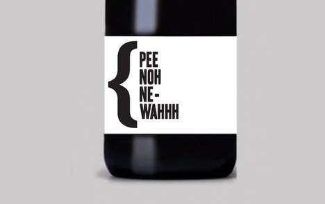 Phonetic Alcohol - Vee Noh Phonetic Wine is a Clever Twist on Pronunciation