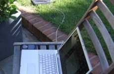 Sun-Powered Laptop Chargers - Solargorilla Solar Charger Sunbathes to Ensure You Stay Connected