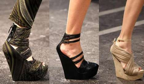Givenchy's Spring 2010 Runway Show Featured Statuesque Footwear