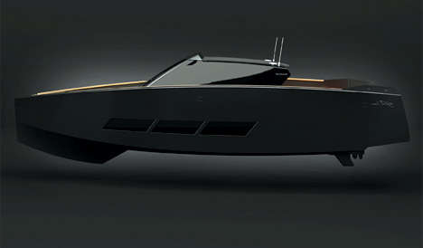 Decepticon Yachts - The Alfra Vico Marino 52 is a Transformer's Dream Boat