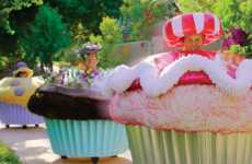 Jacked Confectionary Rides - The Cupcake Cars Make Rollin' Less Badass and More Sugary Sweet