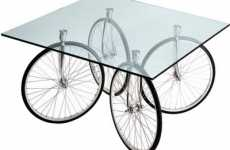 Pop A Wheelie Tabletops - The Whirling and Twirling Tour Table by Gae Aulenti