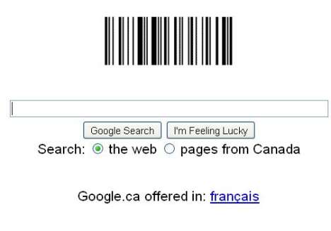 Secret Coded Websites - Google Commemorates the First Barcode Patent