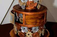 Steampunk Wedding Cakes - Mike's Amazing Cakes Makes Metal Taste Great