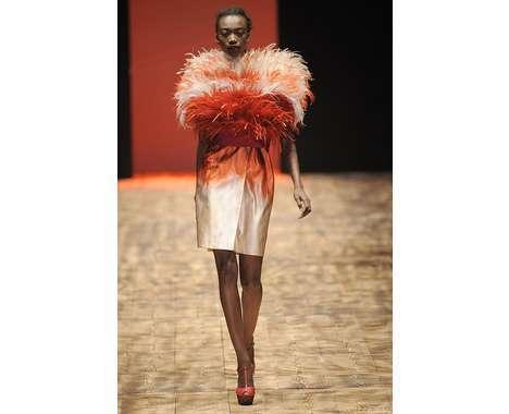 36 Flighty Feathered Fashions