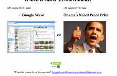 Hilarious Comparative Memes - 'Google Wave is Easier to Understand Than' Nobel Peace Prize & Women