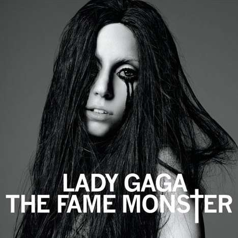 Gothic Album Artwork - Lady Gaga 'The Fame Monster' Shows the Dark Side of Fame