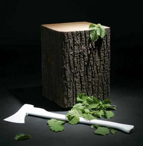 25 Tree Trunk & Stump Creations