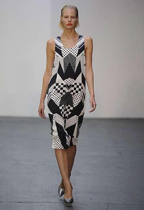 Dot Matrix & Gradient Fashion