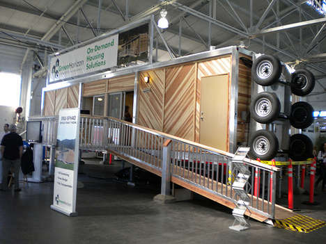 On-Demand Housing - Portable Shelter for Environmentally Conscientious Disaster Relief