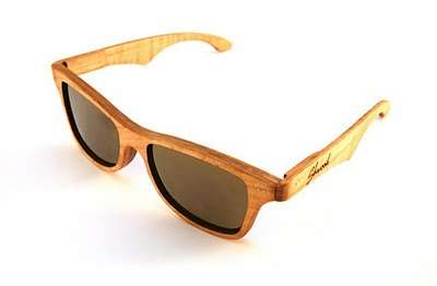 Super-Natural Wooden Shades - The Schwood Canby Sunglasses Let You be One With Nature