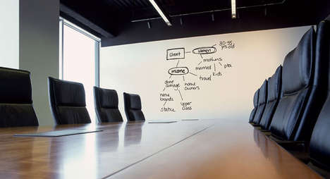 IdeaPaint Turns Any Surface into a DIY Whiteboard (UPDATE)
