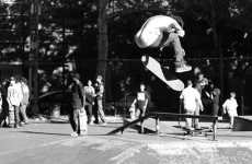 Skateboarder Artography - Harold Hunter Captures Park Boarders Through the Lens