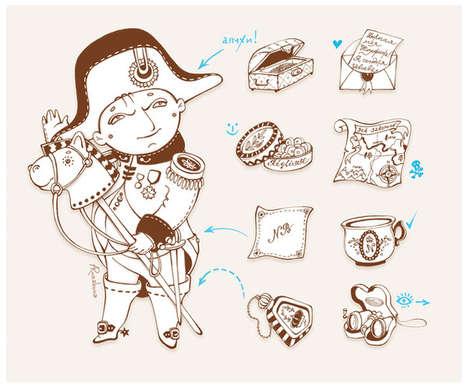 Historical Figure Cartoons