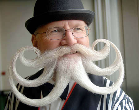 Sculptural Facial Hair - Bizarre Beards and Mustaches Look Like Works of Art