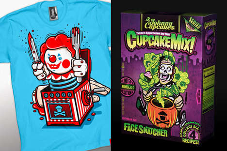 Johnny Cupcake Limited Edition Tees Make Halloween Fun