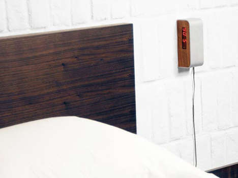 Side-Hanging Alarm Clocks