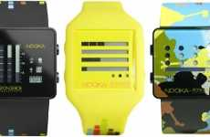 Cartoon Commemoration Watches - SpongeBob Nooka Watch Celebrates 10th Anniversary