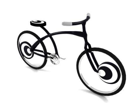 Optical Illusion Bikes