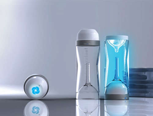 UV-Disinfecting Infant Bottles