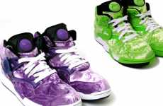 Ballin' Barney Kicks - Reebok and Atmos Join Heads to Create Court Victory Pumps